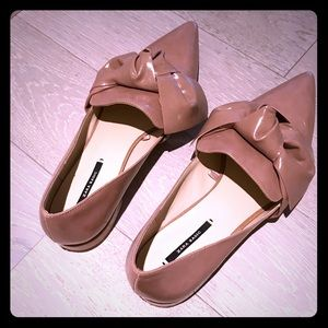Zara flats. Size 9.